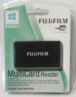 FUJIFILM MultiCard Reader All current cards from MicroSD to CF