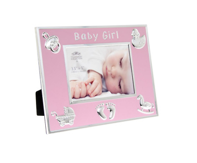 Baby Girl Pink Photo Frame By Leonardo Collection