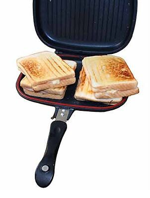 Deep Fill Double Toaster + Cooker pan Fishing and Camping etc