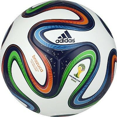 adidas Brazuca Match Ball Authentic Top Replica Soccer Ball Size 5 G73621