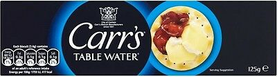 Carr's Table Water Biscuits (2x125g)