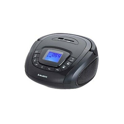 Majestic Ah240Mp3Usbsdbk Radio Portatile Fm / Pll Mp3 Usb Sd Display Lcd Nero