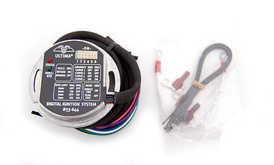 Programmable Single Fire Ultima Ignition Module Pc Data Fit Harley Big Twins