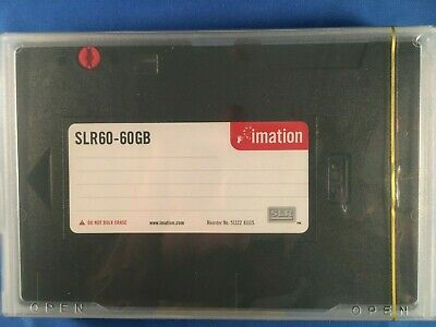 New Imation SLR60 30GB/60GB Data Tape Cartridge 41115 NEW super fast shipping