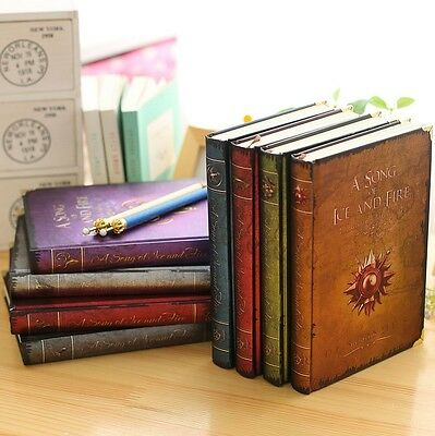 Vintage HBO Game of Thrones Notebook Pads A Song Of Ice & Fire Office Journal