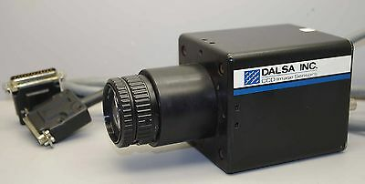 Dalsa CCD Inspection Camera CT-C5-2048N w/ Nikon EL-NIKKOR 63mm 1:2.8 Lens ++