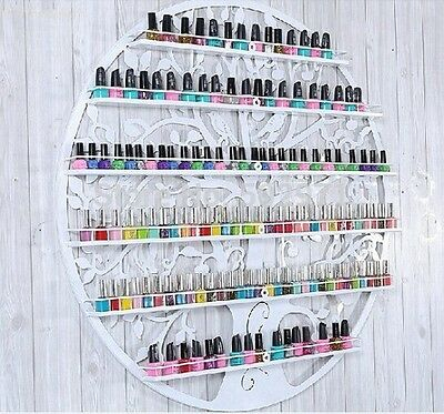 Storage Stand for Nail Polishes Technician Salon Supplies Rack Wall Rack