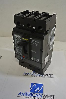 Square D JJL36175  3 pole 175 amp 600 volt PowerPact circuit breaker *TESTED