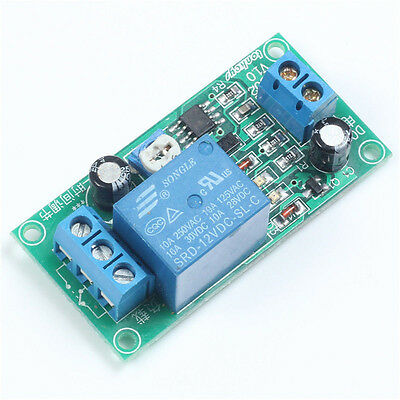 DC 12V NE555 0~60 Seconds Delay Timer Time Switch Adjustable Time Relay Module C