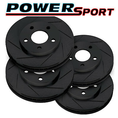 POWERSPORT DRILL//SLOT-Lincoln TOWN CAR 03-11 Excluding Limo FRONT Brake Rotors