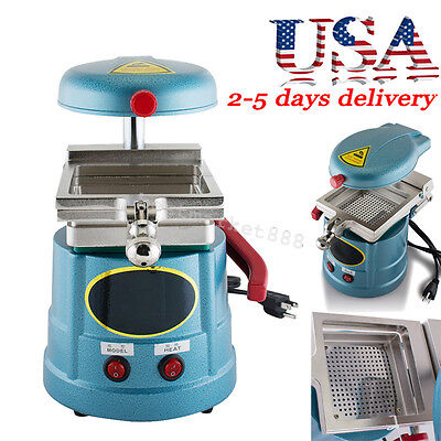 US-Dental Vacuum Forming Molding Machine Former Heat Thermoforming Lab Equipment