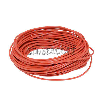 Flexible Stranded of UL 1007 24 AWG wire cable Red 10M 300V DIY Electrical