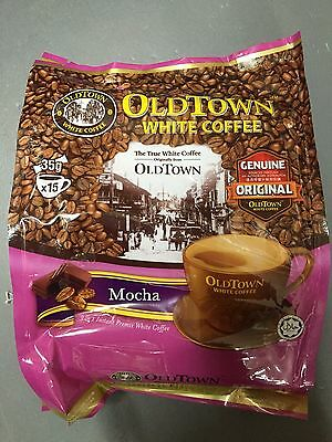 Old Town Instant White Coffee 3 in 1 OldTown mocha 35G x 15 Sachets