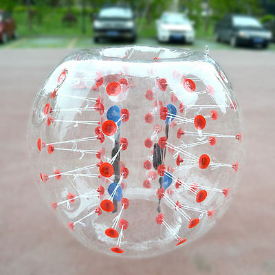 Neu Kids And Adult INFLATABLE BODY ZORB 1.5M/4.92FT PVC BUMPER FUßBALL BUBBLE