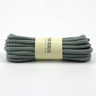 Unisex Shoelaces Cord Round Shoe Laces Fashion Woven Bootlace Trainers Strings