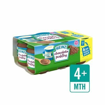 Heinz Chocolate Pudding 6 x 120g