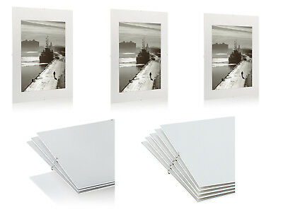 CLIP FRAMES PICTURE Photo Frames A1 A2 A3 A4 Large Poster Frame Many ...
