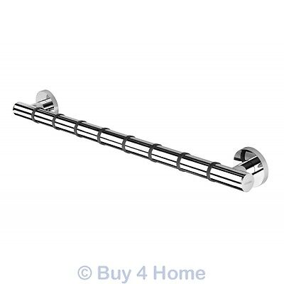 NEW Croydex Chrome 68cm Heavy Duty Straight Grab Grip Disability Safety Bar