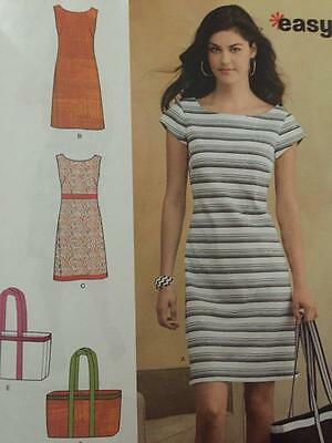 New Look Sewing Pattern 6095 Ladies Misses Dress size 10-22