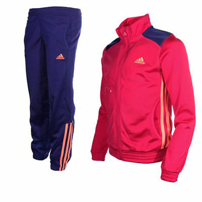 New Kids Adidas Casual Pink Teen Jogging Bottoms Girls Infant Tracksuit jacket