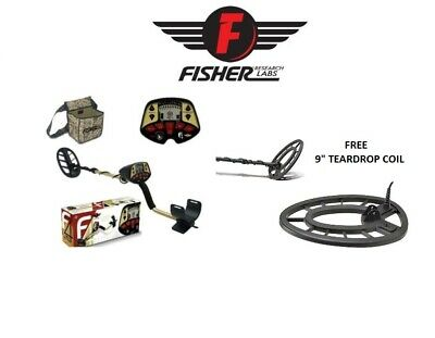 "Fisher F4 Metal Detector 11"" DD Waterproof Search Coil Coin Relic Beach Free S/H"