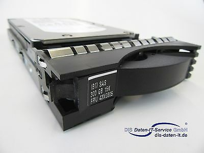 "Ibm Hdd 300Gb 15K Sas 3.5"" Fru 43X0805"