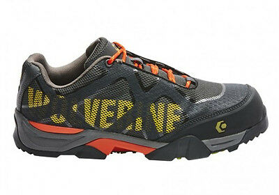 Wolverine Lighting Mens Lace Up Safety Industrial Work Shoes Comfortable
