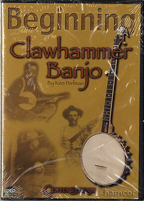 Beginning Clawhammer Banjo Ken Perlman Learn How to Play 5-String Tuition DVD