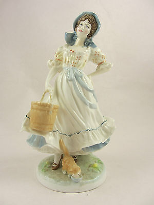 ROYAL WORCESTER The Milkmaid Limited Edition Figurine