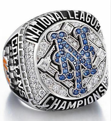 2015 - 2016 New York Mets world series Championship Ring Great Gift For Men !!!