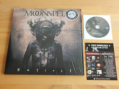 MOONSPELL - Extinct 2LP 180g White Vinyl + DVD / Download-card GOTHIC METAL