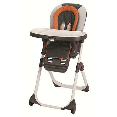 NIB Graco DuoDiner LX 3-in-1 High Chair in Tangerine FREE GIFT WITH PURCHASE!!!!