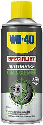 WD40 Total Specialist Motorcycle Motorbike Chain Cleaner - 400ml