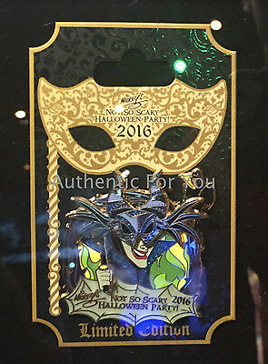 NEW 2016 Disney Mickey Scary Halloween Party MNSSHP Villains MALEFICENT LE Pin