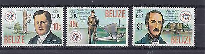 Belize  1976  S G  439 - 441  American Revolution   Set  Mnh