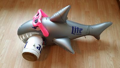 Miller Lite Genuine Draft Inflatable Shark