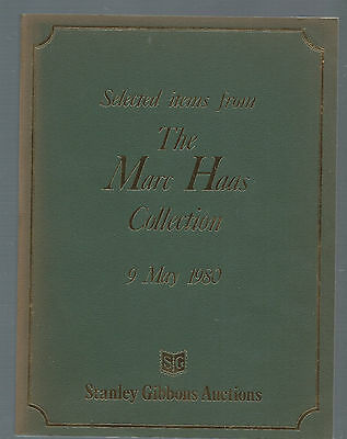Stanley Gibbons Auctions 1980***The Marc Haas Collection***Classic Us Covers
