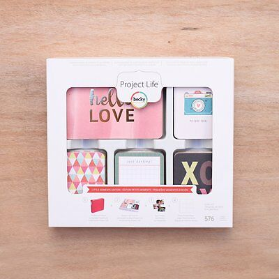 LITTLE MOMENTS Edition - 66 Cards - Becky Higgins Project Life Partial Core Kit