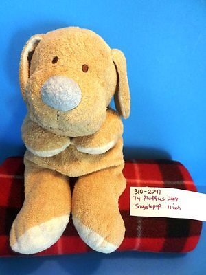 Ty Pluffies Snugglepup Plush 2004 (310-2791)