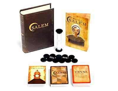 Salem: A Card Game of Deception for 4-12 Players