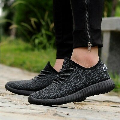 Hot New Mens Yeezy Boost Trainers Fitness Gym Sports Running Shock Shoes Sports