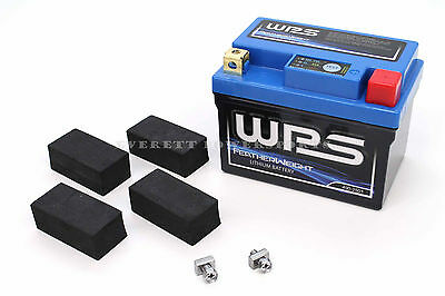 New WPS Featherweight Lithium Battery Replaces YTX7L-BS YTZ7S Honda Suzuki #S44