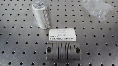 """Z131196 (Lot of 2) Helical MC7C150-20-12 (5/8""""-3/8"""") Flexible Shaft Coupling New"""