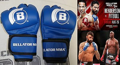 Official Bellator MMA Fight Gloves Everlast Small 4oz Pair RARE Unsigned UFC S