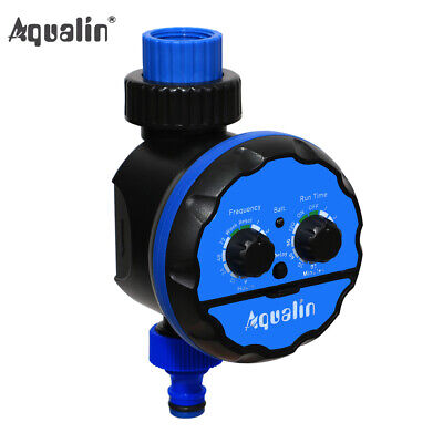 New Ball Valve Irrigation Controller Garden Hose Water Timer With Delay Action