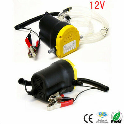 DC 12V 5A 60W Motor Fuel Oil Suction Pump Self-priming Diesel Oil Transfer Pump