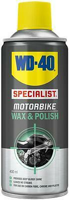WD40 Total Specialist Motorcycle Motorbike Cleaning Wax And Polish - 400ml