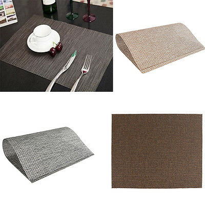 Quick-drying Placemats Heat Insulation Table Mats Coasters Kitchen Hotels Dining