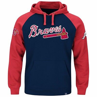 MLB Baseball Hoody Hoodie Kaputzenpullover ATLANTA BRAVES Cunning hooded sweater