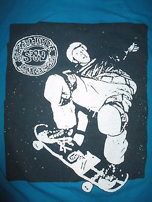 NICE Rare Vtg 80s G&S GORDON SMITH Skateboard Image Shirt Large Original Skater